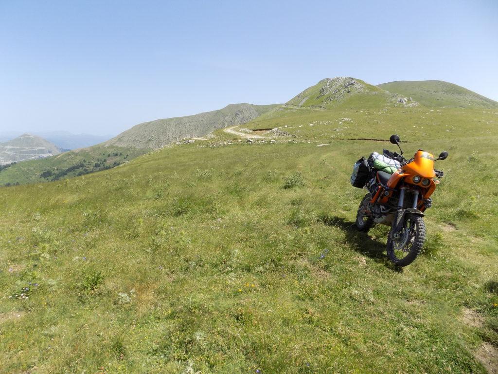 Grčka, planinski prevoji.