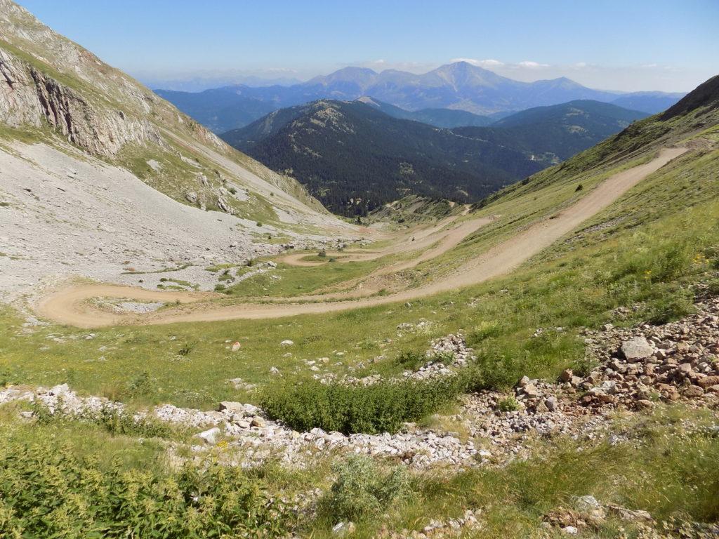 Grčka, planinski prevoj
