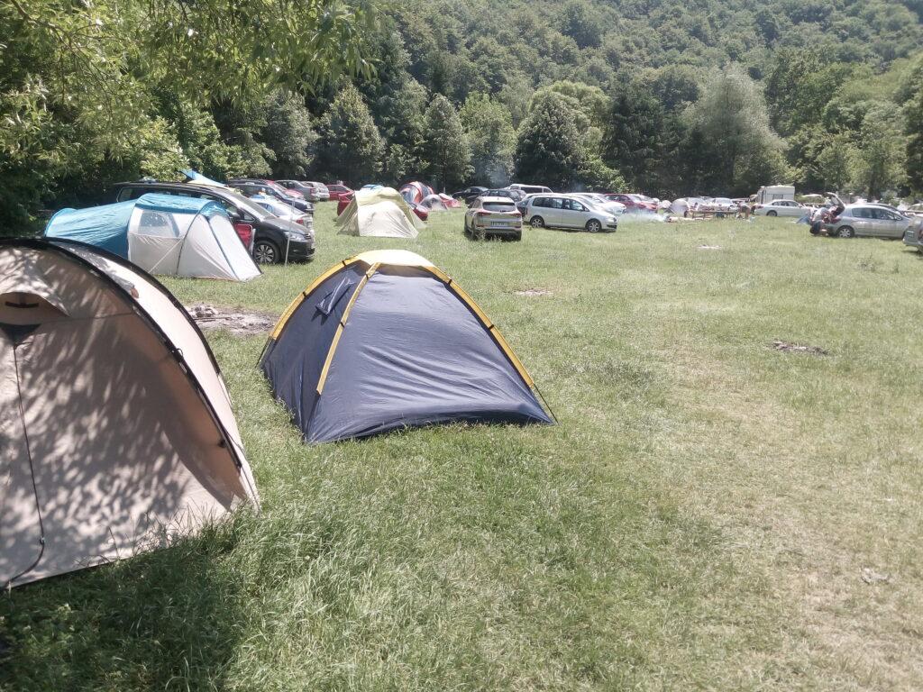 Valea Beiului kamp
