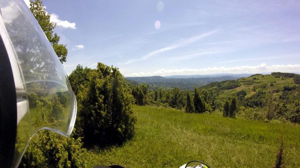 Pogled sa Carine ka drinskoj dolini