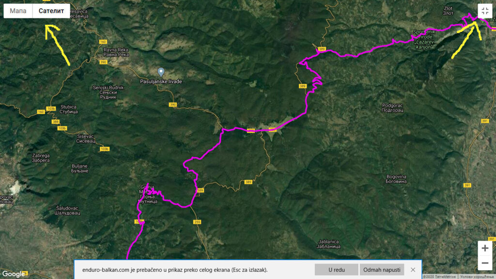 Map fulscreen